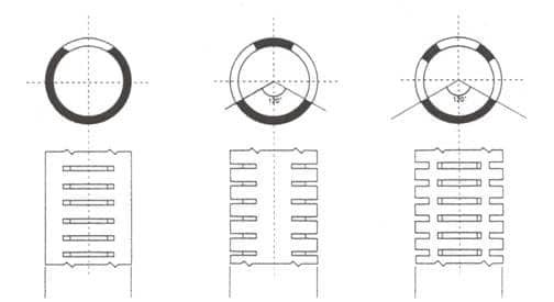 filtri in pvc microfessurati