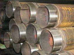 Tubi in acciaio per pozzi artesiani